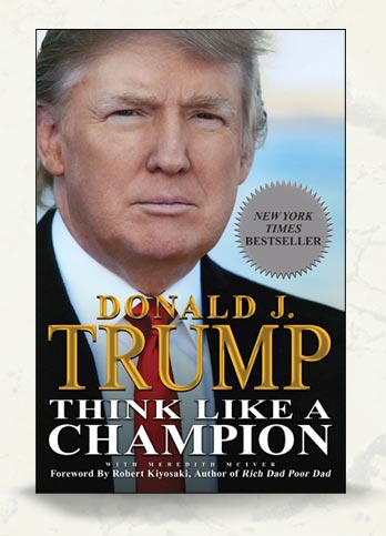 Image result for 'Think Like a Champion' by Donald Trump